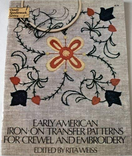 9780486231624 Iron On Transfer Patterns For Crewel And Embroidery