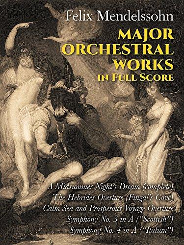 9780486231846: Major Orchestral Works in Full Score (Dover Music Scores)