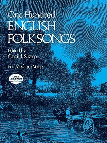 9780486231921: One Hundred English Folksongs