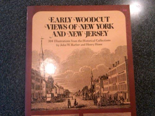 9780486231969: Early Woodcut Views of New York and New Jersey