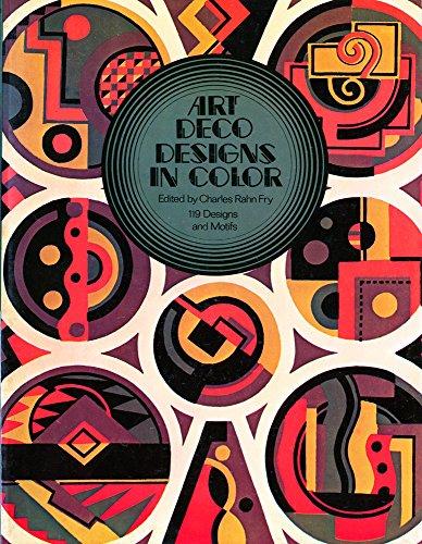 9780486232164: Art Deco Designs in Color
