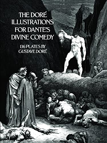 9780486232317: The Dore Illustrations for Dante's Divine Comedy (136 Plates by Gustave Dore)