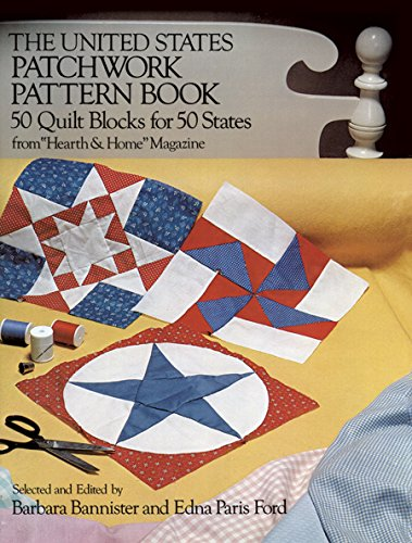 9780486232430: The United States Patchwork Pattern Book (Dover Quilting)