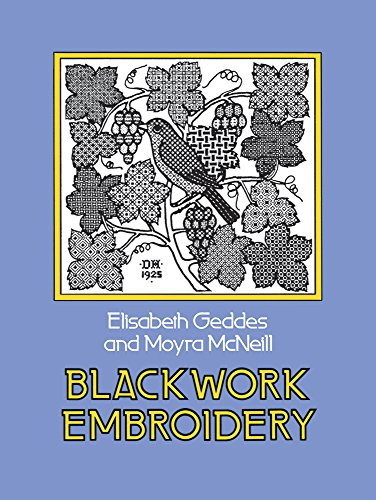 9780486232454: Blackwork Embroidery