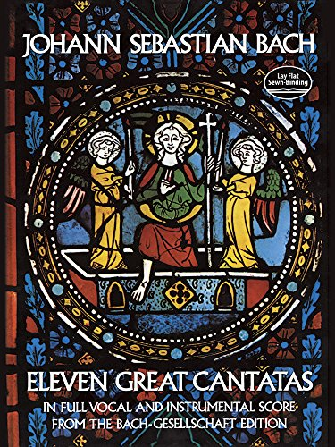 9780486232683: Eleven Great Cantatas (Dover Music Scores)