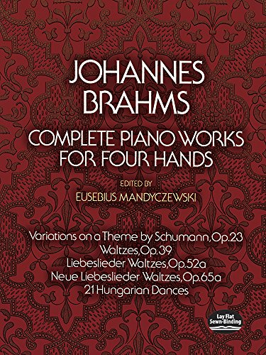 9780486232713: Complete Piano Works for Four Hands