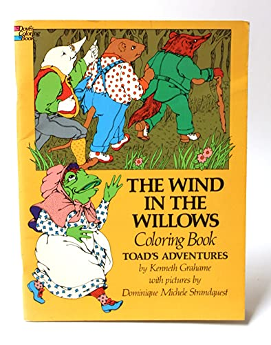 The Wind in the Willows Coloring Book: Grahame, Kenneth
