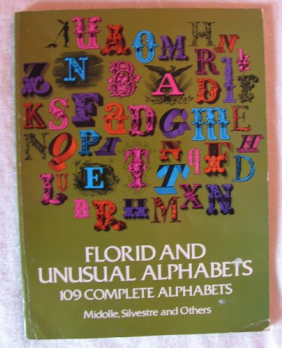 9780486233048: Florid and Unusual Alphabets (Dover Pictorial Archives)