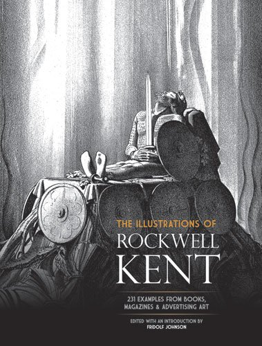 9780486233055: Illustrations of Rockwell Kent: 231 Examples from Books, Magazines and Advertising Art