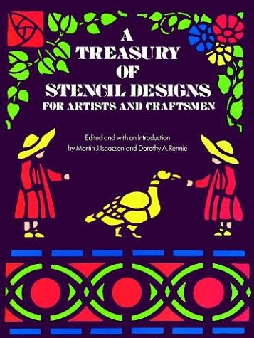 9780486233079: A Treasury of Stencil Designs for Artists and Craftsmen (Dover Books on Nature)