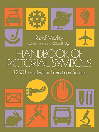 9780486233574: Handbook of Pictorial Symbols: 3, 250 Examples from International Sources (Dover Pictorial Archive)