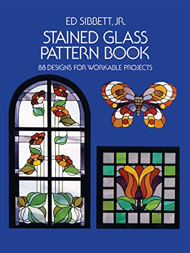 9780486233604: Stained Glass Pattern Book: 88 Designs for Workable Projects (Dover Stained Glass Instruction)