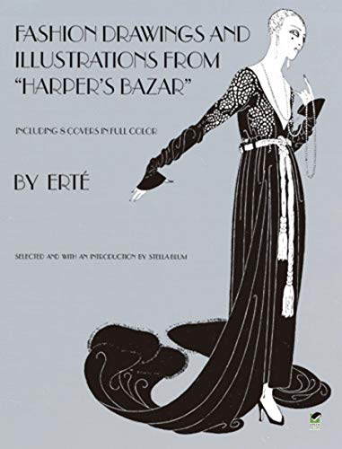 9780486233970: Designs by Erté: Fashion Drawings and Illustrations from