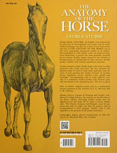 9780486234021: The Anatomy of the Horse (Dover Anatomy for Artists)