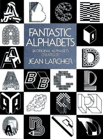9780486234120: Fantastic Alphabets (Picture Archives)