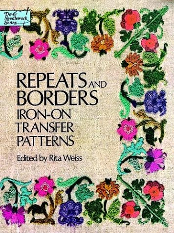 9780486234281: Repeats and Borders Iron-on Transfer Patterns