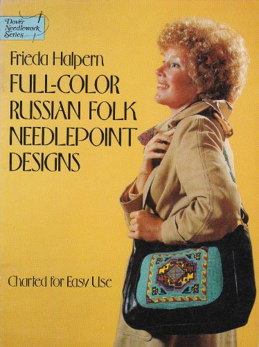 9780486234519: Full-Color Russian Folk Needlepoint Designs: Charted for Easy Use