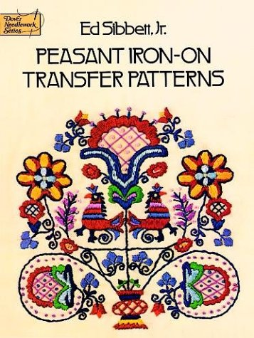9780486234564: Peasant Iron-on Transfer Patterns (Dover Needlework Series)
