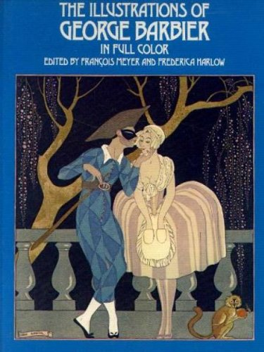 9780486234762: The Illustrations of George Barbier in Full Color