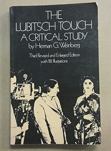 Lubitsch Touch: A Critical Study: Weinberg, Herman G.