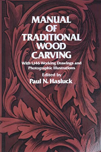 9780486234892: Manual of Traditional Wood Carving