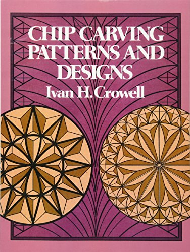 9780486235325: Chip Carving Patterns and Designs (Dover Woodworking)