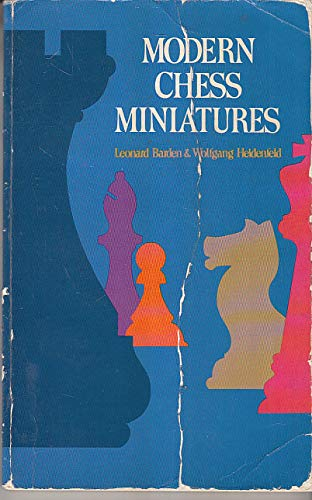 9780486235417: Modern Chess Miniatures