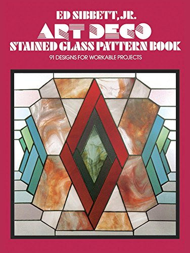 9780486235509: Art Deco Stained Glass Pattern Book (Dover Stained Glass Instruction)