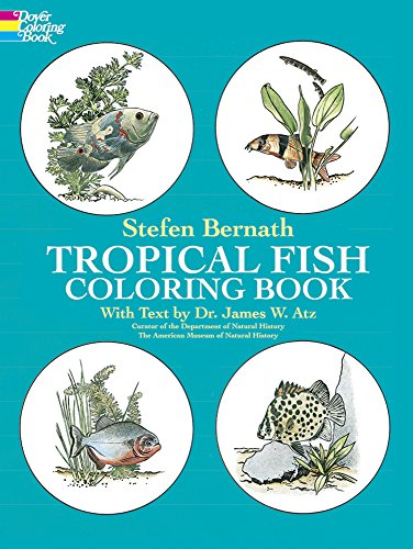 9780486236209: Tropical Fish Coloring Book (Dover Nature Coloring Book)