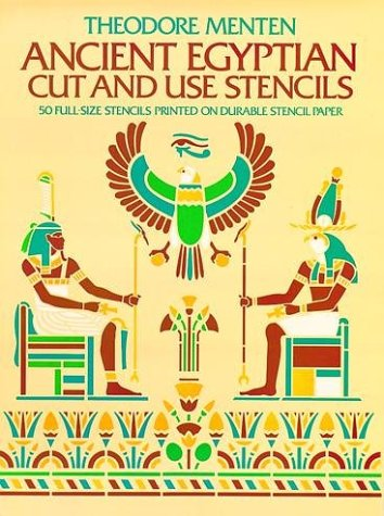 9780486236261: Ancient Egyptian Cut and Use Stencils