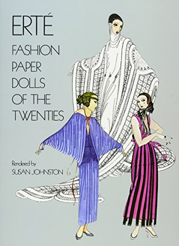 Erte Fashion Paper Dolls of the Twenties (Dover Paper Dolls)