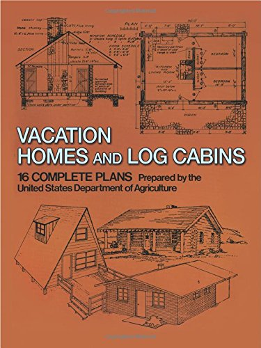 9780486236315: Vacation Homes and Log Cabins