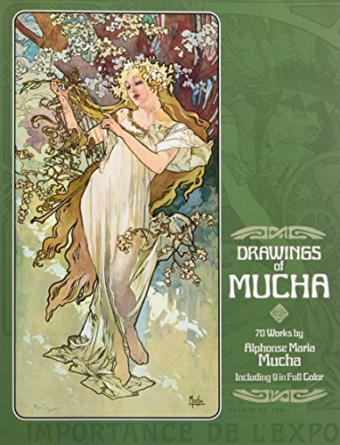 9780486236728: Drawings of Mucha: 70 Works by Alphonse Maria Mucha Including 9 in Full Color