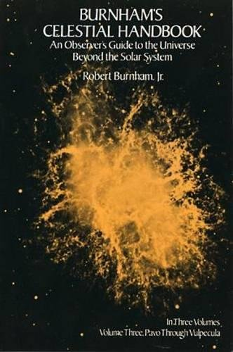9780486236735: Burnham's Celestial Handbook: An Observer's Guide to the Universe Beyond the Solar System, Vol. 3