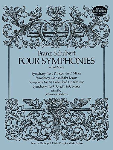 9780486236810: Four Symphonies in Full Score (Dover Music Scores)