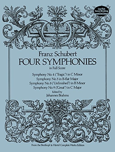 9780486236810: Four Symphonies in Full Score