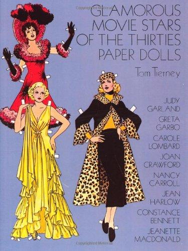 9780486237152: Glamorous Movie Stars of the Thirties Paper Dolls