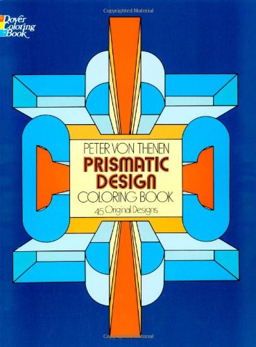 9780486237169: Prismatic Designs Coloring Book (Dover Design ...