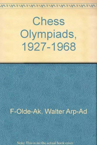 9780486237336: Chess Olympiads, 1927-1968