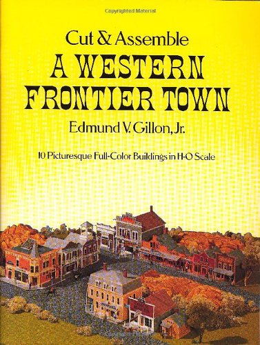9780486237367: Cut and Assemble a Western Frontier Town