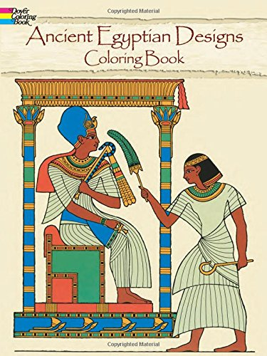 9780486237466: Ancient Egyptian Designs Coloring Book (Dover Design Coloring Books)