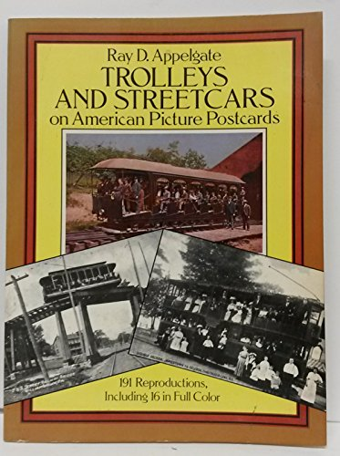 Trolleys and Streetcars on American Picture Postcards