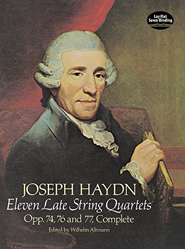 9780486237534: Joseph Haydn: Eleven Late String Quartets/Opp. 74, 76 and 77, Complete