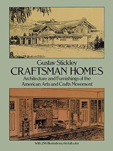 9780486237916: Craftsman Homes: Architecture and Furnishings of the American Arts and Crafts Movement