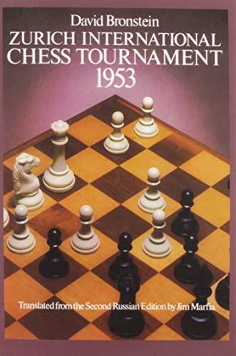 9780486238005: International Chess Tournament 1953: Zurich (Dover Chess)