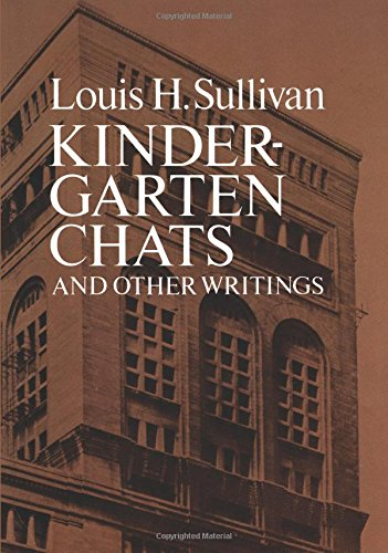 9780486238128: Kindergarten Chats and Other Writings (Dover Architecture)
