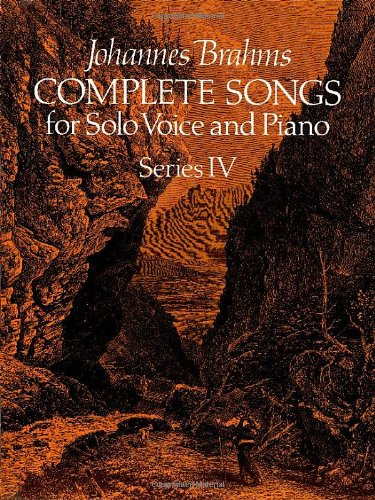 9780486238234: Johannes Brahms Complete Songs for Solo Voice and Piano (Dover Song Collections)