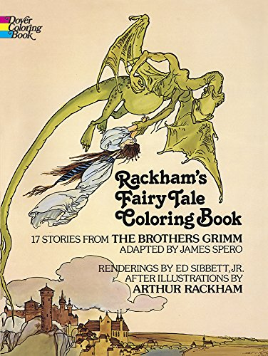 9780486238449: Rackham's Fairy Tale Colouring Book (Dover Classic Stories Coloring Book)