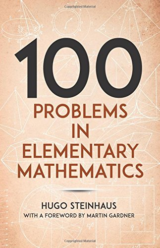9780486238753: One Hundred Problems in Elementary Mathematics (Dover Books on Mathematics)