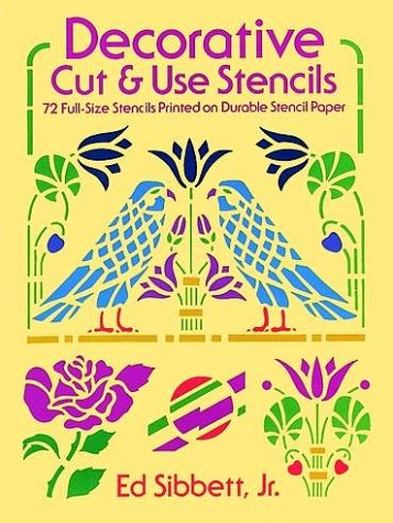 9780486238807: Decorative Cut & Use Stencils (From Stencils and Notepaper to Flowers and Napkin Folding)